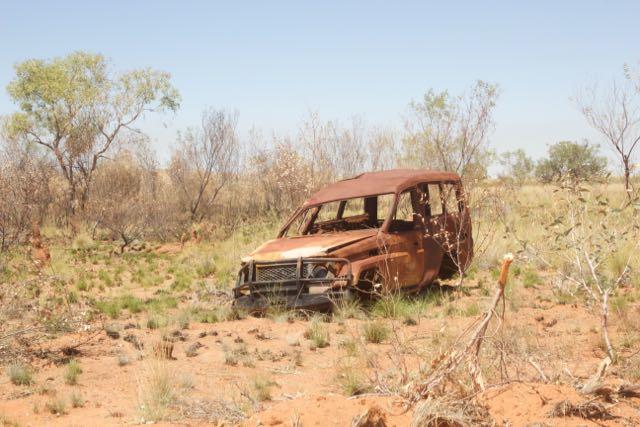 Artworks in the Aussie bush