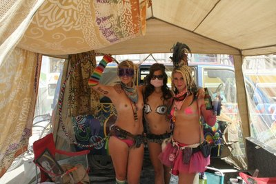 Explicit Burning Man Trio