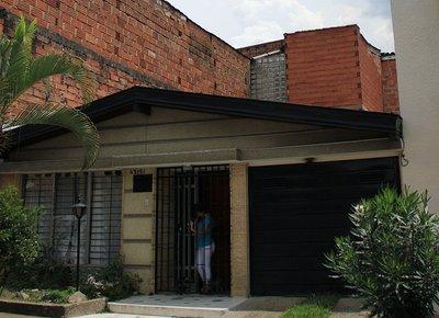Rooftop where Escobar was shot