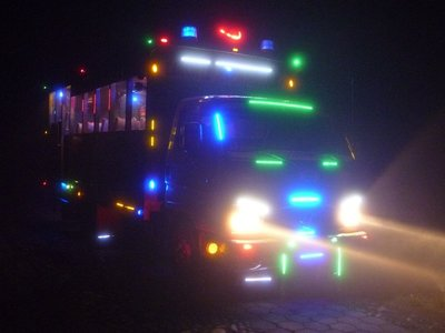 Chiva party bus