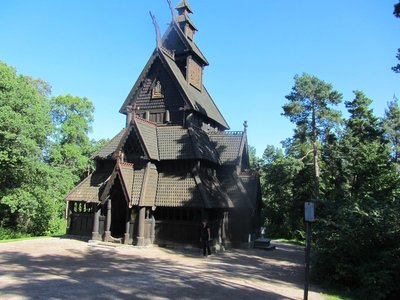 GOL Stave Church. No nails or bolts
