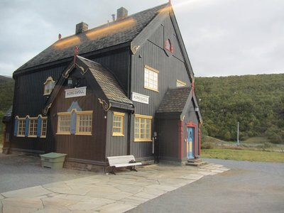 Typical northern railway station-KONGSVOLL.