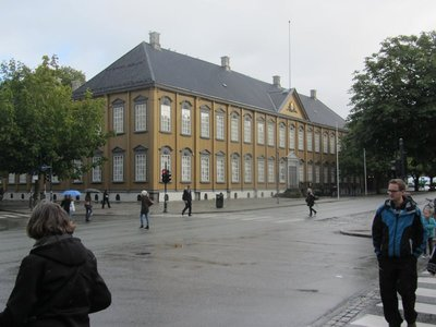 THE PRESENT KING OF NORWAY'S RESIDENCE IN TRONDHEIM