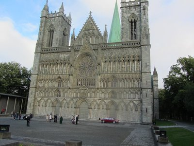 TRONDHEIM CATHEDRAL - Commenced in 1250