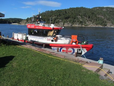 COASTAL PATROL RESCUE BOAT