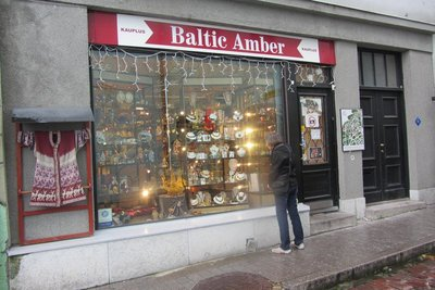 A JEWELLERY SHOP SPECIALISING IN AMBER