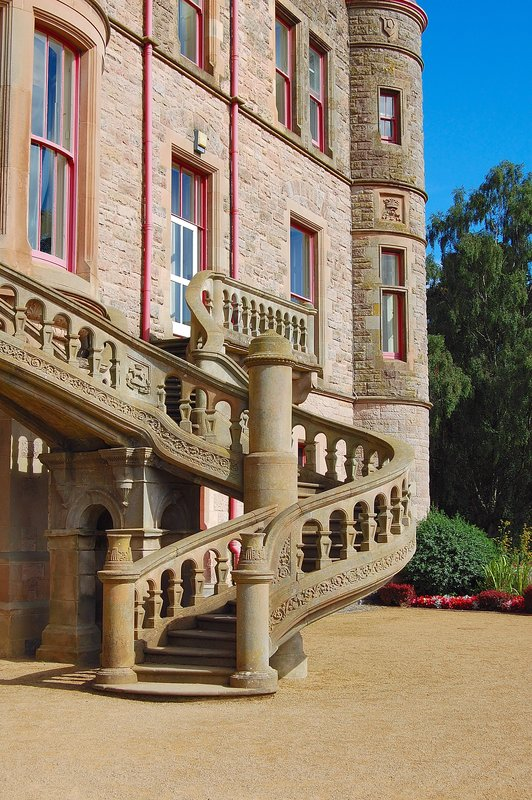 Staircase Belfast Castle