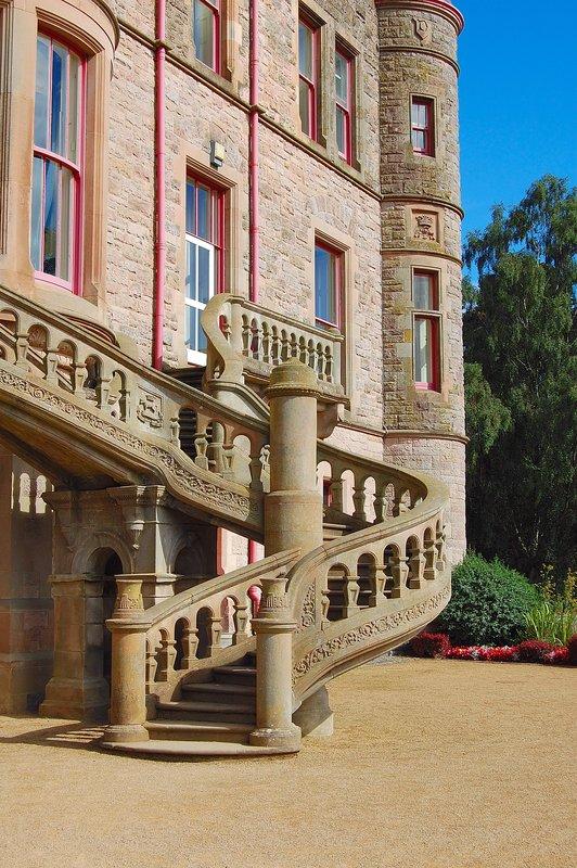 Staircase Belfast Castle