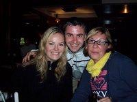 Heather with Clare & Darren