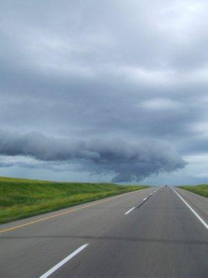 Ominous storm cloud ahead