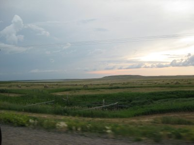 Amazing Pre-storm Prairie Sky