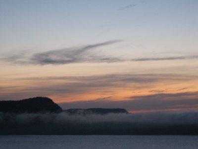 Sleeping Giant in Fog