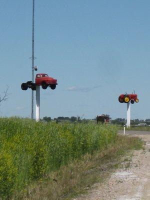 Country SideRoad Cache Near Calgary
