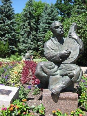 Jer in Leo Mol Sculpture Garden