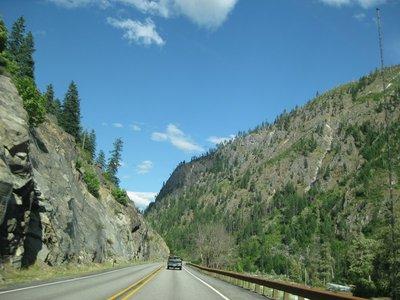 Cascade Mountains in Central Washington