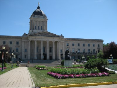 Golden Boy on Legislative Building