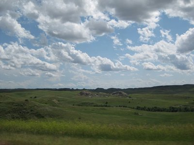 Bye Mountains, and Hello rolling plains and farmland