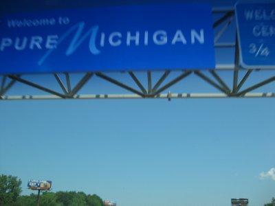 Entering Michigan