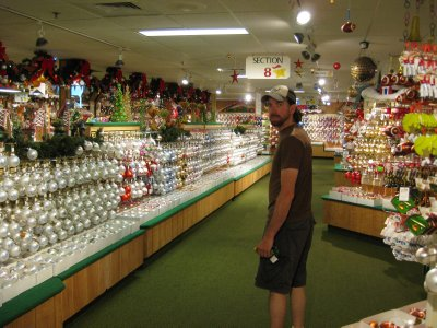 Trying To Pick 1 Ornament...In A Word: OVERWHELMED (At Bronners Christmas Wonderland)