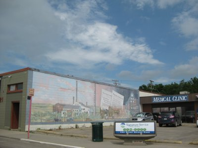 Historic Murals in Downtown Moose Jaw