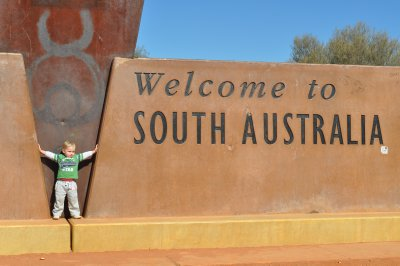 Leaving SA and heading into NT