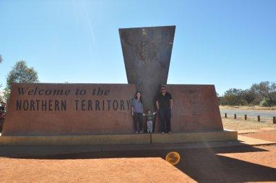 NT State Border