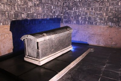 Coffin in Museum of Ancient Tombs
