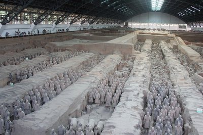 Main building of the Terra Cotta Warriors
