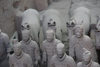 Terra Cotta Warriors - a closeup