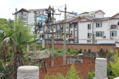 Electrical Work in Lijiang