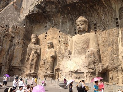 Cliff Carving in Luoyang