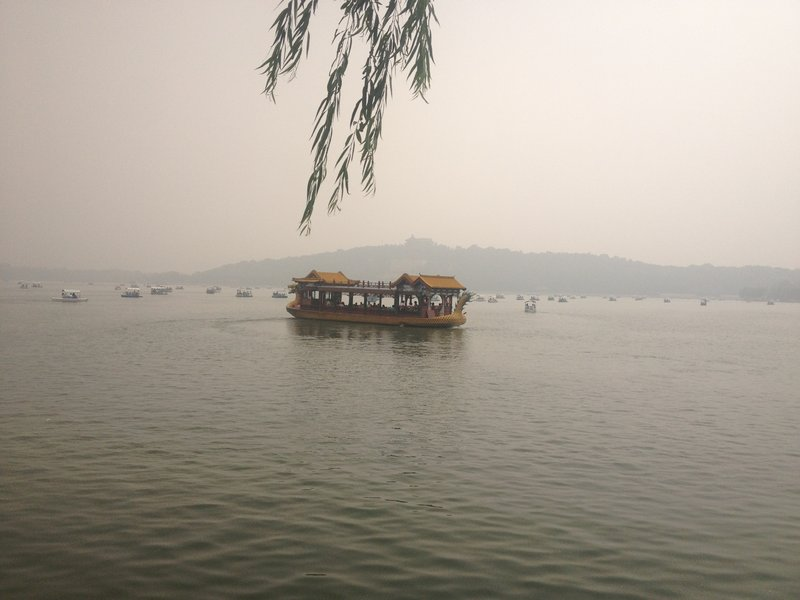 Lake View of Summer Palace in Beijing