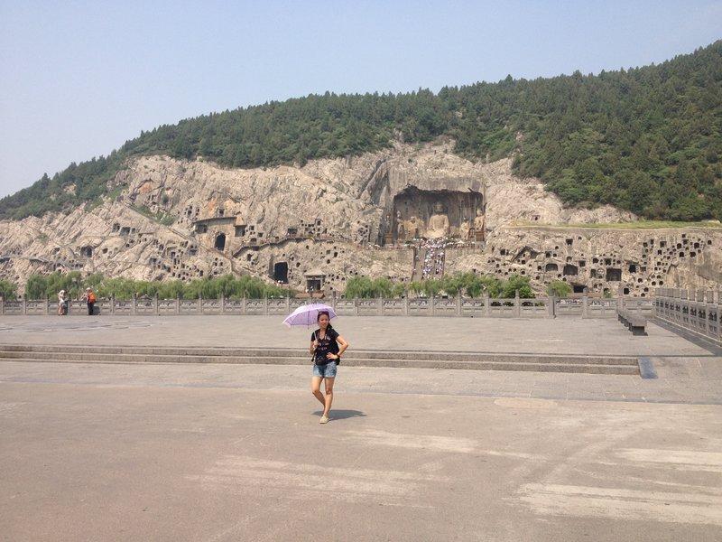 Cliff Carvings in the Longmen Grottos