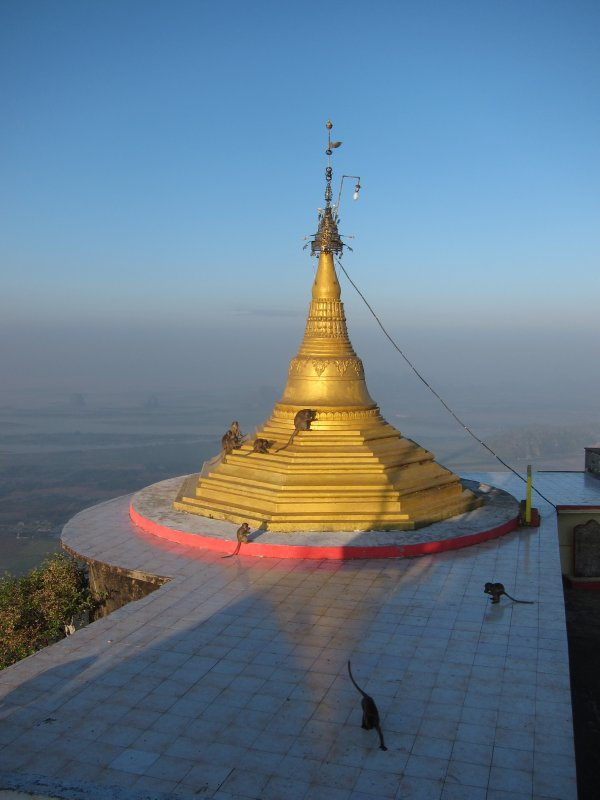 Monastery Stupa