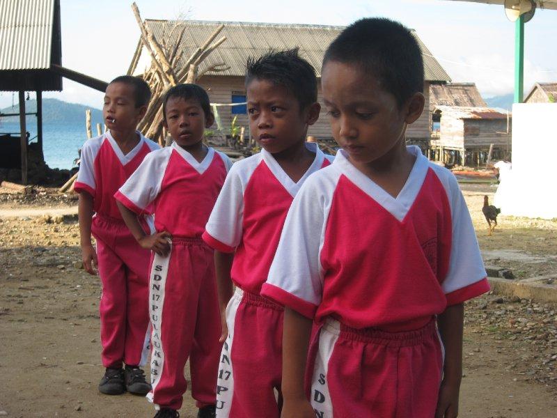 Kabung Island School Kids