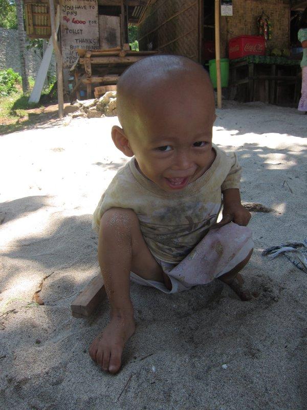 Cute Balinese Kid
