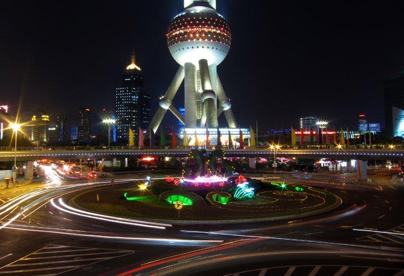 Shanghai Traffic Circle