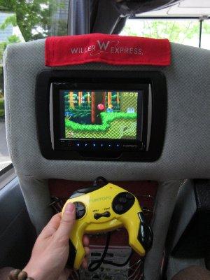 Sega on the Bus!