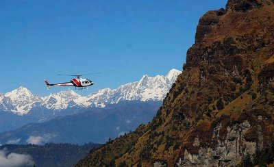 Kailash Mansarover Yatra by helicopter