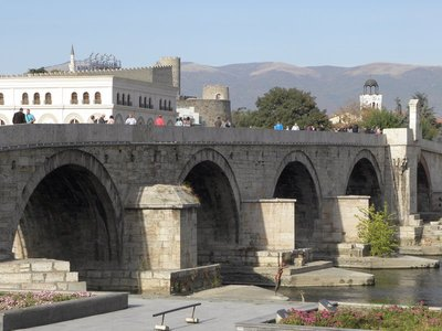 Stone Bridge, Skopje