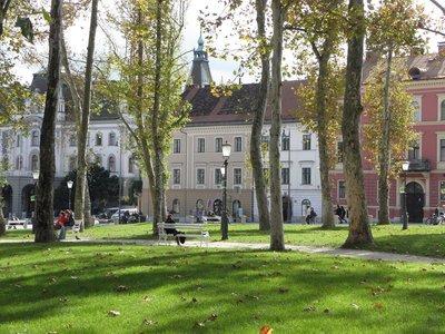 Sights in Ljubljana