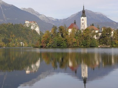 Bled Island and Bled Castle