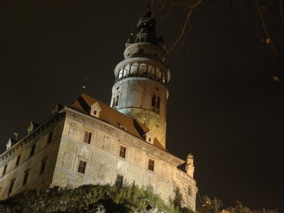 Cesky Krumlov at Night