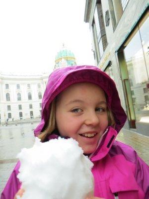 snow! Vienna