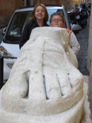 Pie di Marmo, Rome