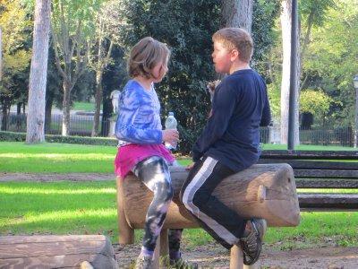 picnic, Villa Borghese park