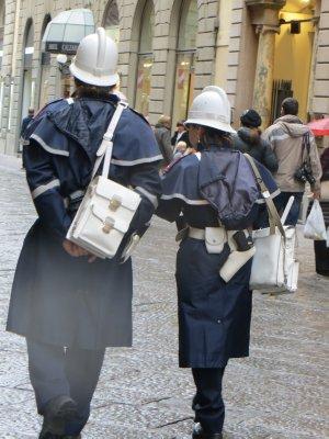 on patrol, Florence