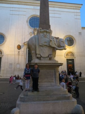 elefante, Rome