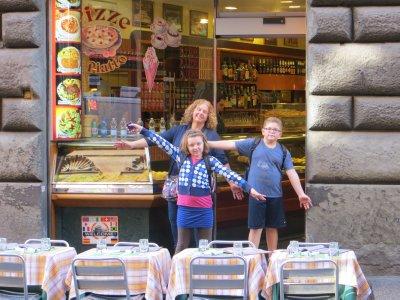 pizza!, Rome