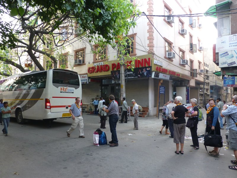 Arrival at Hotel in Delhi